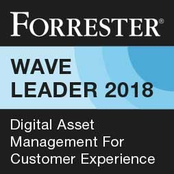 Forrester Wave Leader 2018 Digital Asset Management for Customer Experience