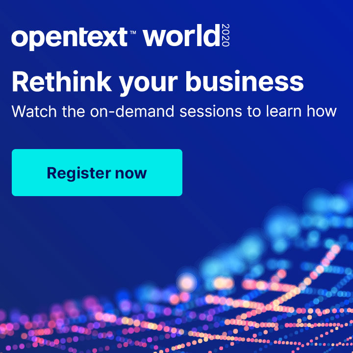 Rethink your business - Watch the on-demand sessions to learn how Register now